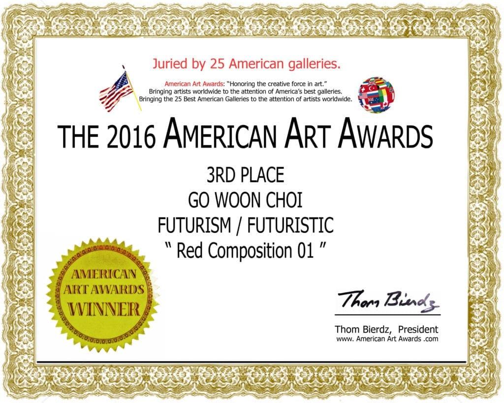 Artists Ribbons And Certificates American Art Awardsamerican Art